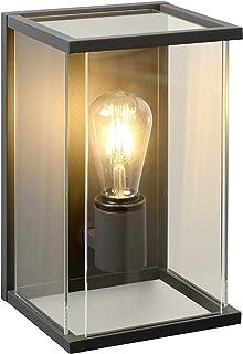 Noir 5 W Lucide 14892//80//30 Borne Ext/érieur 10,5 x 10,5 x 80 cm Aluminium GU10
