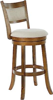 Awe Inspiring Amazon Com Steve Silver Company Bali Backless Swivel Forskolin Free Trial Chair Design Images Forskolin Free Trialorg
