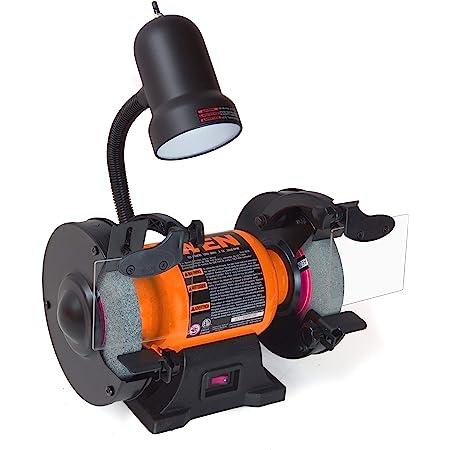 WEN BG4276 2.1-Amp 6-Inch Single Speed Bench Grinder with Flexible Work Light