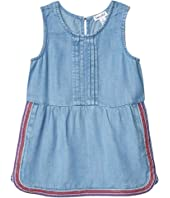 Embroidered Chambray Dress (Toddler/Little Kids)