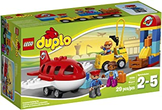 LEGO DUPLO Town Airport 10590 Buildable Toy for 3-Year-Olds