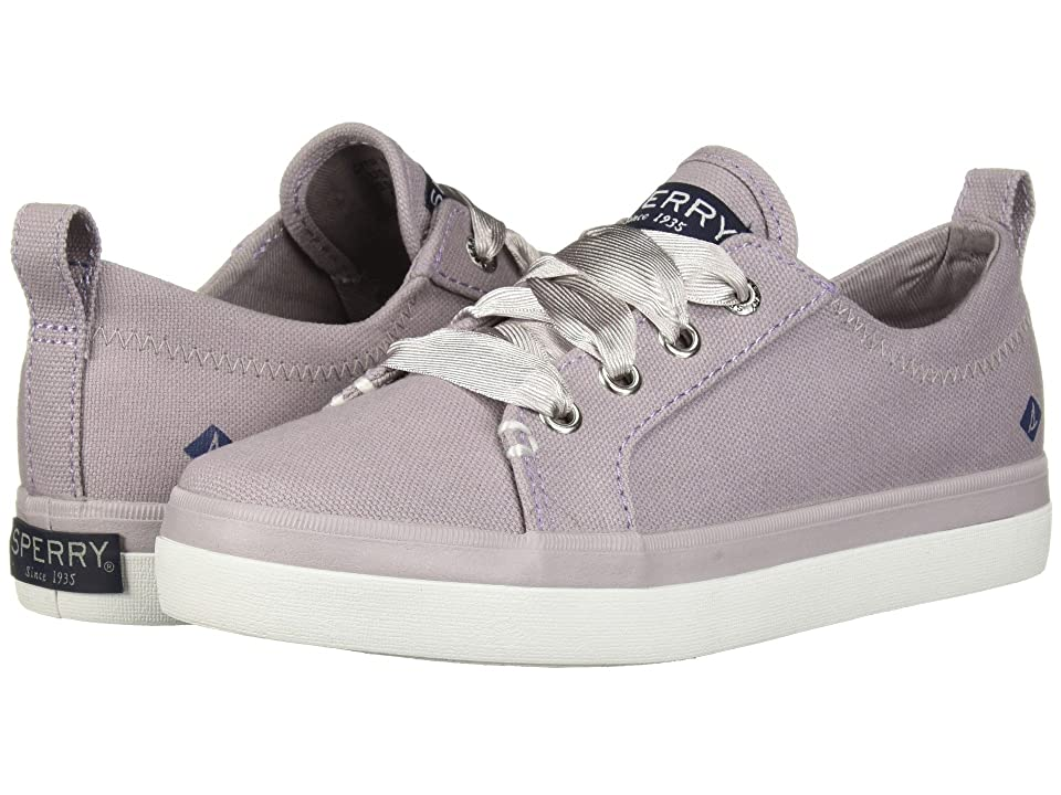 Sperry Kids Crest Vibe Canvas (Little Kid/Big Kid) (Dusty Lilac Textile) Girls Shoes