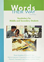 Words Their Way: Vocabulary for Middle and Secondary Students (Words Their Way Series)