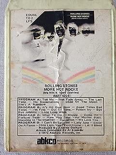 ROLLING STONES More Hot Rocks 8 track tape 1972 abkco Original Jagger Richards