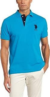 Men's Short-Sleeve Polo Shirt with Applique