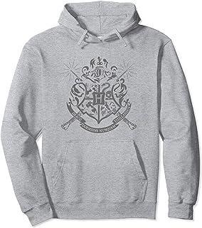 Harry Potter Hogwarts Badge Wands Sweat à Capuche