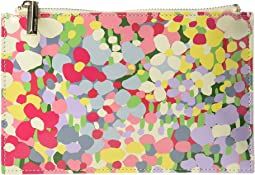 Floral Dot Pencil Pouch