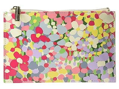 Kate Spade New York Floral Dot Pencil Pouch (Multi) Wallet