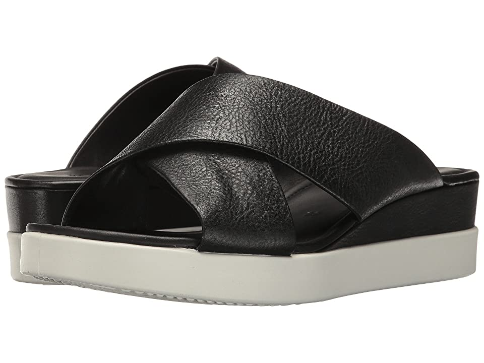 ECCO Touch Slide Sandal (Black Cow Leather) Women's Sandals