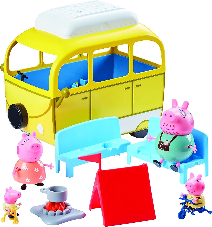 Peppa Pig Wohnwagen yellow yellow