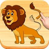 Los animales divertidos # 2 - los niños rompecabezas para niños pequeños. Puzzles juegos niños 2-4 años.