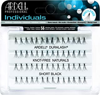 76a479bb3f9 Ardell Professional Duralash Natural Knot Free Eye Lashes, Flare Short Black