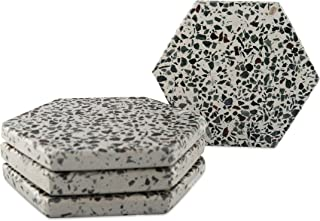 Best concrete hexagon coasters Reviews