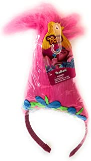 Trolls Pink Poppy Glitter Headband! MOVIE TROLLS