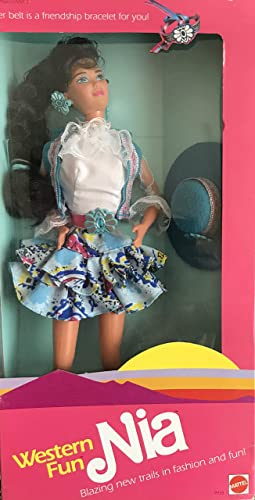 los clientes primero Barbie Western Fun NIA Doll Doll Doll - Belt is a Bracelet For YOU  (1989) by Mattel  el estilo clásico