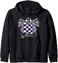 Alvarez Coat of Arms surname last name family crest Zip Hoodie