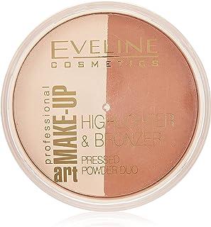 Eveline Make Up Art. Make-Up Powder Duo, Glam Dark No 57, 12 gm