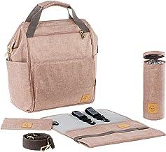 LÄSSIG Mochila cambiador para bebé con accesorios/Goldie Backpack