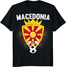 Macedonia Soccer Shirt 2018 Macedonian Flag National Team