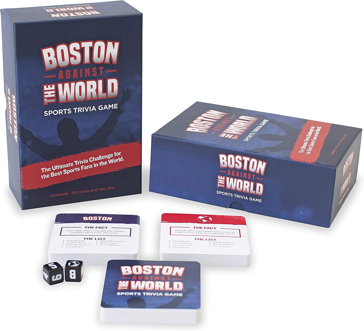 Boston In a popularity Against The World Game - Daily bargain sale Sports Trivia