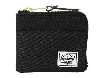 Herschel Supply Co. Johnny RFID (Black 3) Wallet Handbags