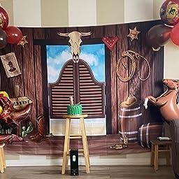 Amazon Com Wild West Cowboy Boots Horse Party Supplies Balloons Decor Toys Games