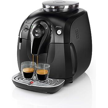 Philips Saeco Cafetera Saeco Xsmall espresso automática, 1400 W, 1 Liter, acero inoxidable, negro: Amazon.es: Hogar