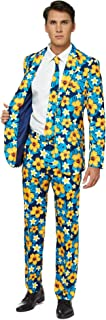 Stylish Everyday Suits for Men in Different Prints – Costumes Include Jacket, Pants and Tie