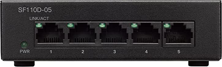 CISCO SYSTEMS CI10015 5 Port Ethernet Switch (SF110D05NA)
