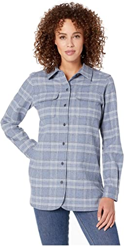 Blue Chambray Plaid