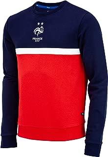 Collection Officielle Taille Homme Equipe de FRANCE de football Sweat Capuche FFF