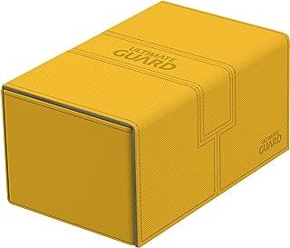 Ultimate Guard UGD010652 Twin Flip n Tray Deck Case, 160 Plus, Standard Size, XenoSkin, Amber