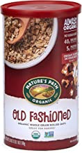 Nature's Path Original Whole Rolled Oats, Healthy, Organic & Sugar Free, 1 Canister, 18 Ounces (Pack of 6)
