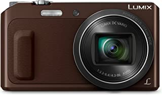 Panasonic Lumix DMC-TZ58 Cámara Digital Compacta (16 MP 4608 x 3456 Pixeles Mos 20x Full HD Marrón) (versión importada)