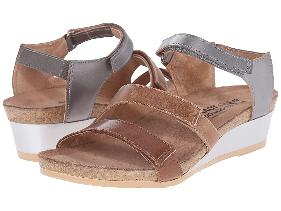 Naot Goddess (Maple Brown Leather/Latte Brown Leather/Mirror Leather) Women