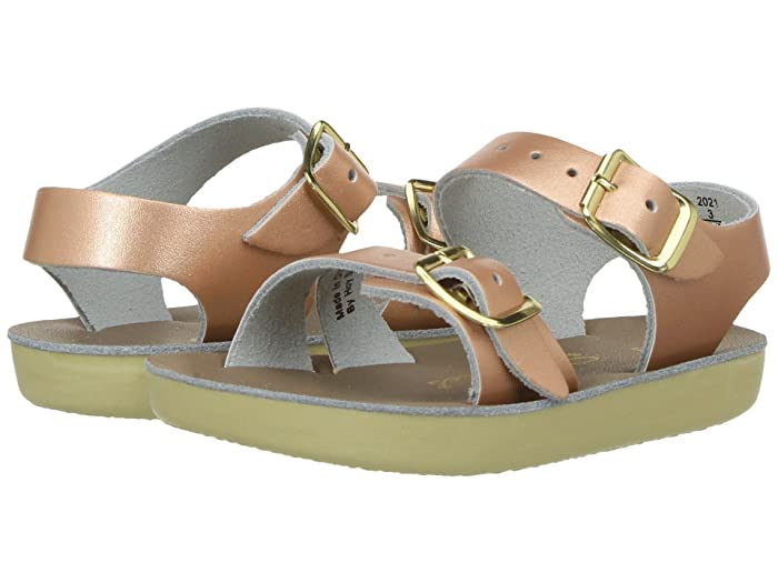 Salt Water Sandal by Hoy Shoes  Sun-San - Sea Wees (Infant/Toddler) (Rose Gold) Girls Shoes