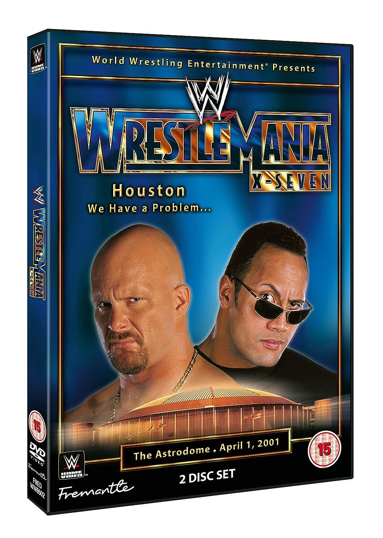 Max 66% OFF WWE: WrestleMania DVD 17 Free Shipping Cheap Bargain Gift