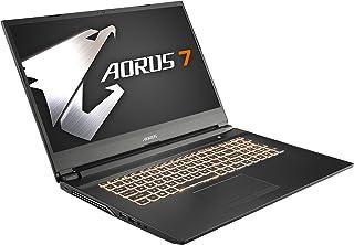 GIGABYTE AORUS 7ゲーミングノートパソコン・All Intel Inside /17.3インチ/ 6mm狭額縁/ i7-9750H/GTX 1660Ti/Samsung 8G*2/512G SSD/Win10/