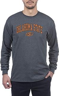 Elite Fan Shop Dark Heather College Arching Basic Long Sleeve Shirt