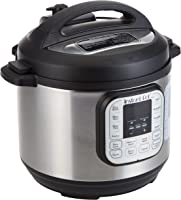 Instant Pot DUO 6, 5.7 L (6-Quart), 7-in-1 Multi-Use Electric Programmable Pressure Cooker, 14 smart programs, Stainless...