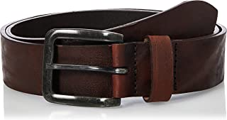Jack & Jones Men's JACVICTOR LEATHER BELT NOOS Belt