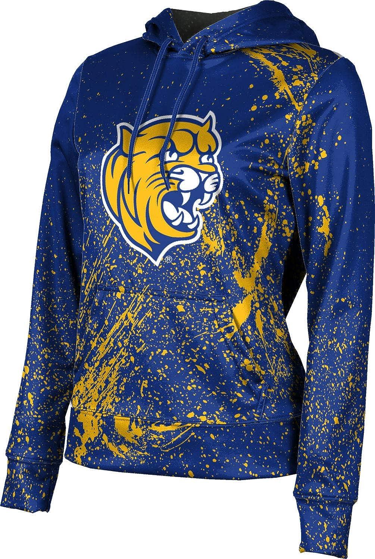 ProSphere Johnson & Wales University Girls' Pullover Hoodie, School Spirit Sweatshirt (Splatter)