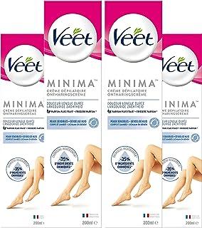 Veet Ontharingscreme - Gevoelige Huid - Minima - 200ml x4