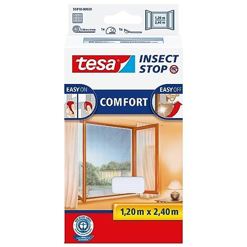 Tesa Insect Stop Comfort - mosquiteras (1200 x 10 x 2400 mm, 200g,