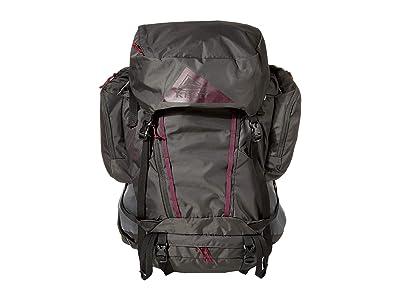 Kelty Coyote 60 (Asphalt/Blackout) Backpack Bags