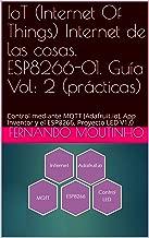 IoT (Internet Of Things) Internet de las cosas. ESP8266-01. Guía Vol: 2 (prácticas): Control mediante MQTT (Adafruit.io), App Inventor y el ESP8266. Proyecto LED V1.0 (Spanish Edition)