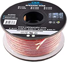 100 Feet 12AWG Enhanced Loud Oxygen-Free Copper Speaker Wire Cable, CNE62270