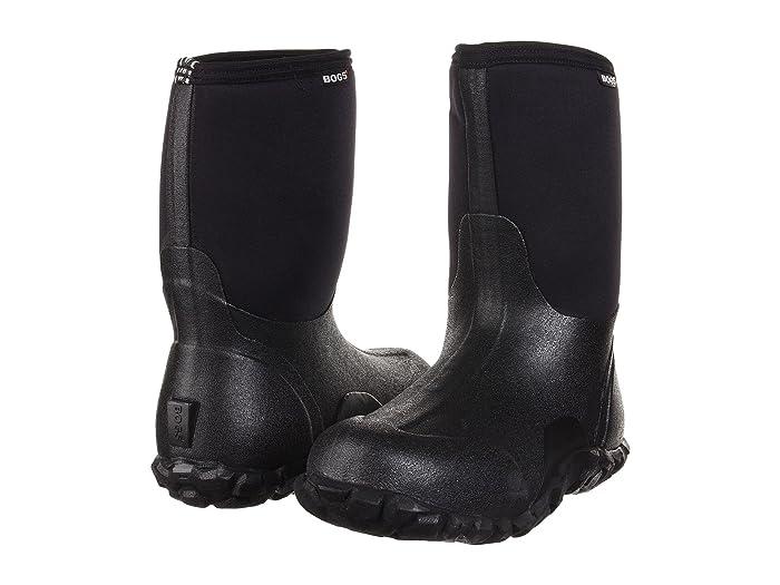 Bogs  Classic Mid (Black) Mens Waterproof Boots