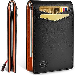 Mens Wallet with Money Clip Slim RFID Front Pocket Wallets for Men