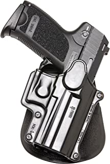 Fobus Roto Holster RH Paddle HK1RP H&K Compact & USP 9mm/40 & 45, Full Size 9mm/40 / S&W Sigma Series 9/40 VE/E/G / FN49 / Ruger SR9 / Taurus Millenium .40 (Pro models refer to SP11B)